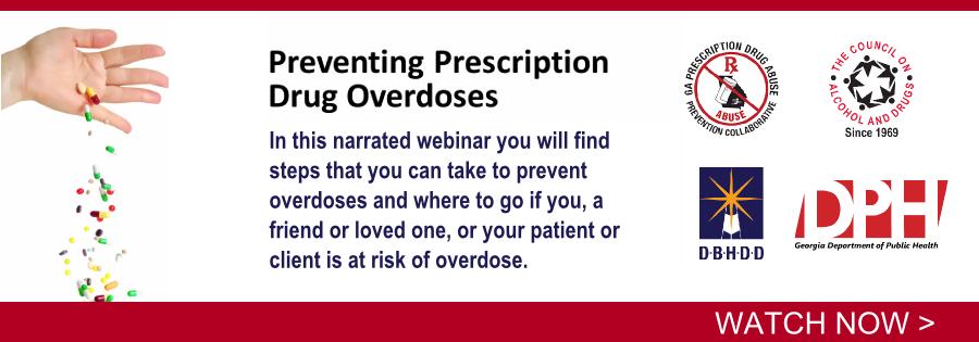 Preventing Prescription Drug Overdoses