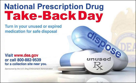 DEA National Prescription Drug Take-Back Day